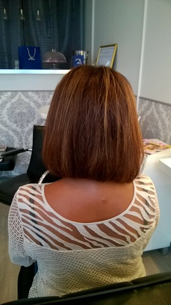 Lissage afro brushing lisse